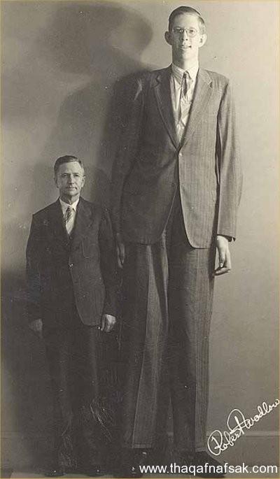 اطول 10 رجال في العالم