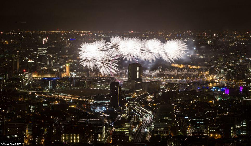 احتفالات عام 2014، ثقف نفسك 2 الاحتفالات بالعام الجديد 2014 في جميع أنحاء العالم صور