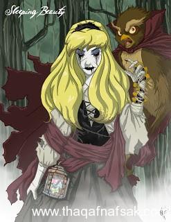 الاميرة شفق www.thaqafnafsak.com  الوجه الشرير لشخصيات ديزني الشهيرة !