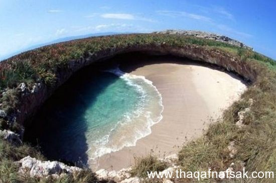 الشاطئ المخفي ثقف نفسك1 شاطئ الحب المخفي في جزر ماريتا