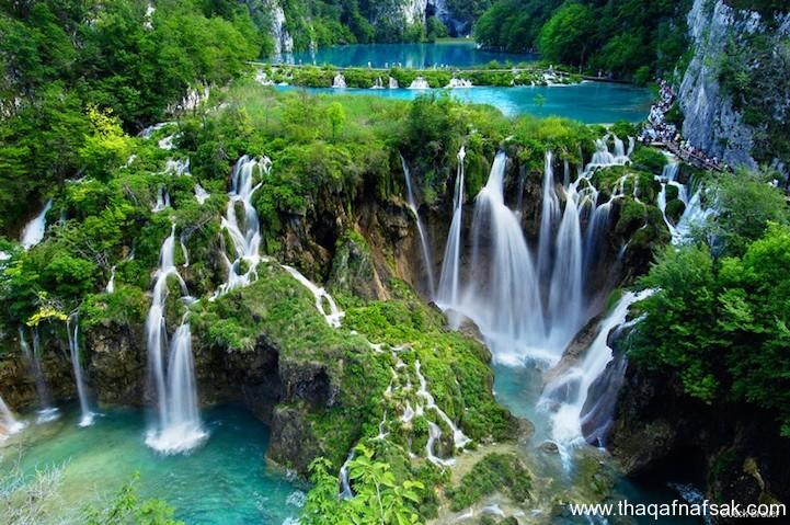 مناظر طبيعية مائية الاكثر جمالا فى العالم