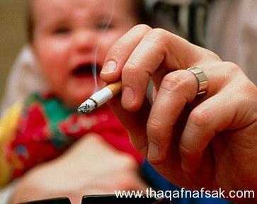 تأثير-التدخين-السلبي-على-تعليم-الأطفال