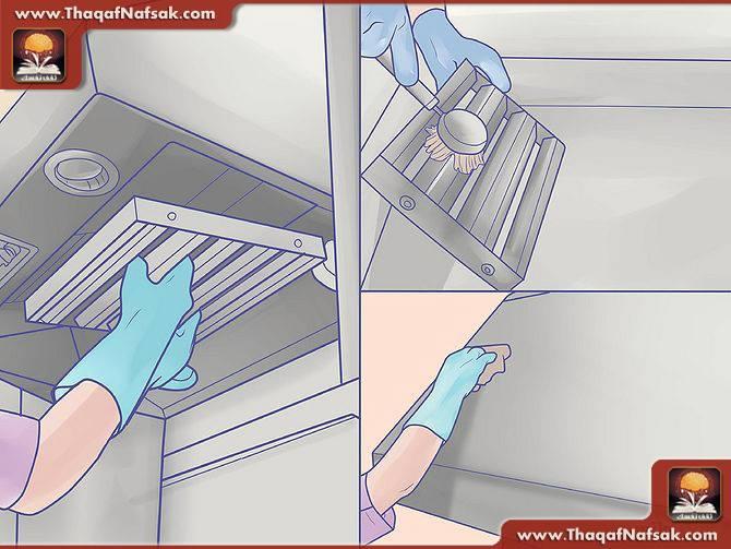 تنظيف المطبخ بالصور5
