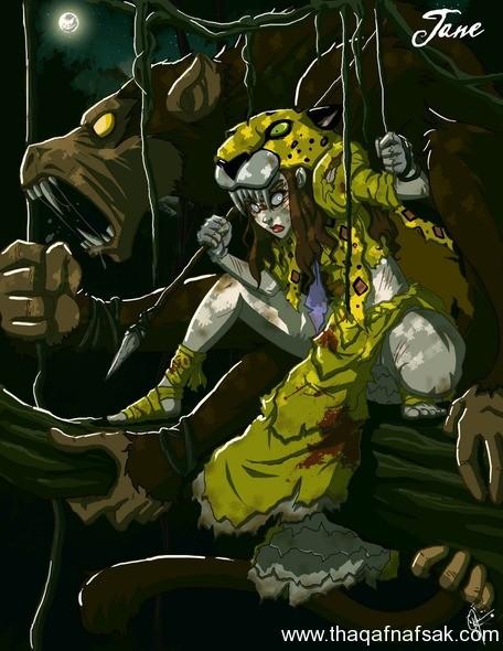 جين www.thaqafnafsak.com  الوجه الشرير لشخصيات ديزني الشهيرة !