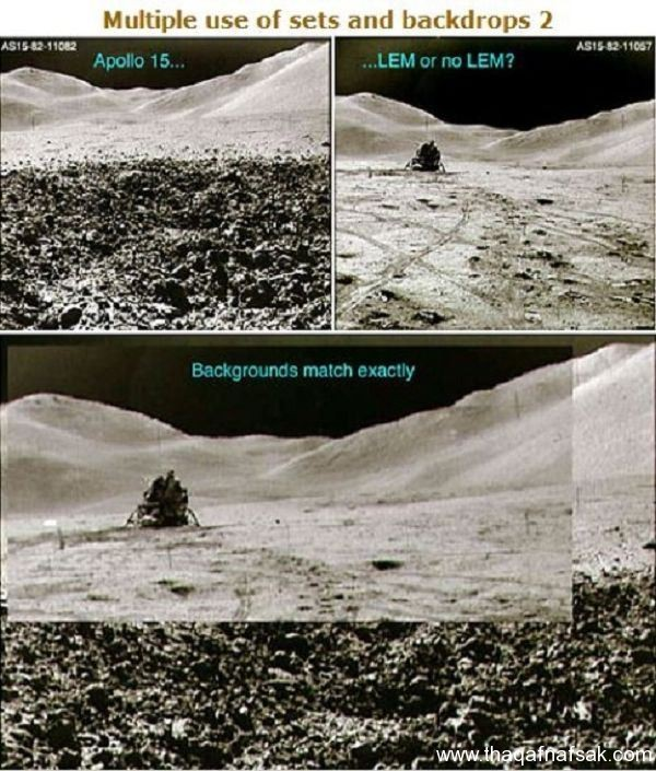 صور الهبوط على القمر . ثقف نفسك 10