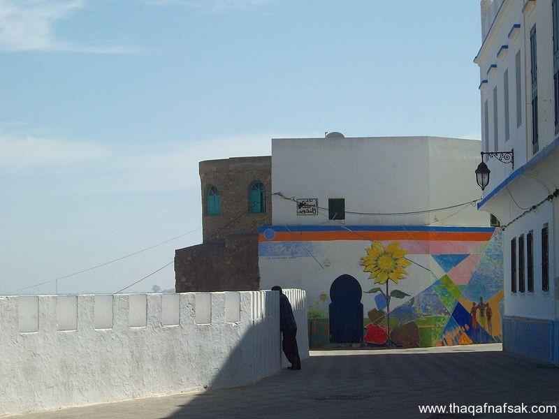 مدينة أصيلة المغربية، ثقف نفسك 7