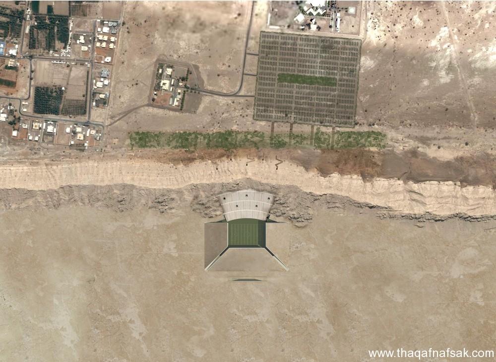 """ملعب كرة في الصحراء """"ستاد الصحراء"""" ملعب-كرة-قد"""