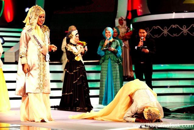 ملكة جمال المسلمين، ثقف نفسك 13 ملكة جمال المسلمين بدلًا من ملكة جمال العالم