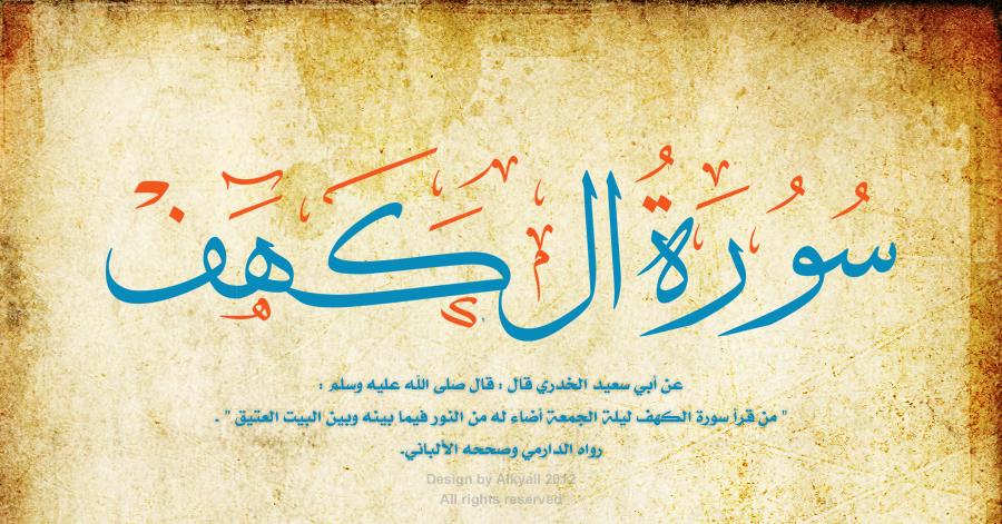 dalil disunnahkan perbanyak sholawat dan membaca surat al-kahfi di hari jumat