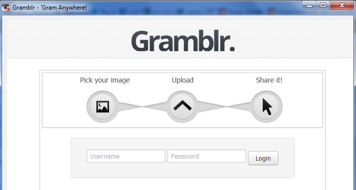Gramblr Log In