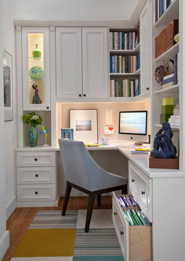 - How to make a home office in a small space gallery ...
