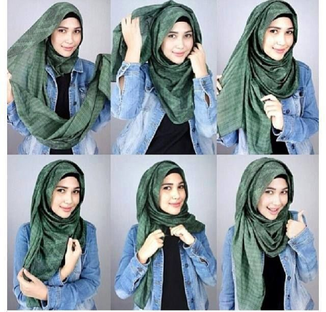 8 Fashion style hijab terkini