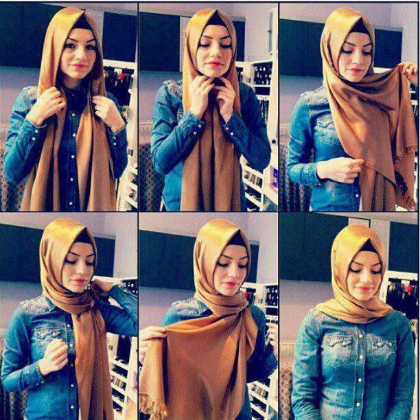 تعلمي ربطات حجاب لأناقتك ... طرق مختلفة وجديدة