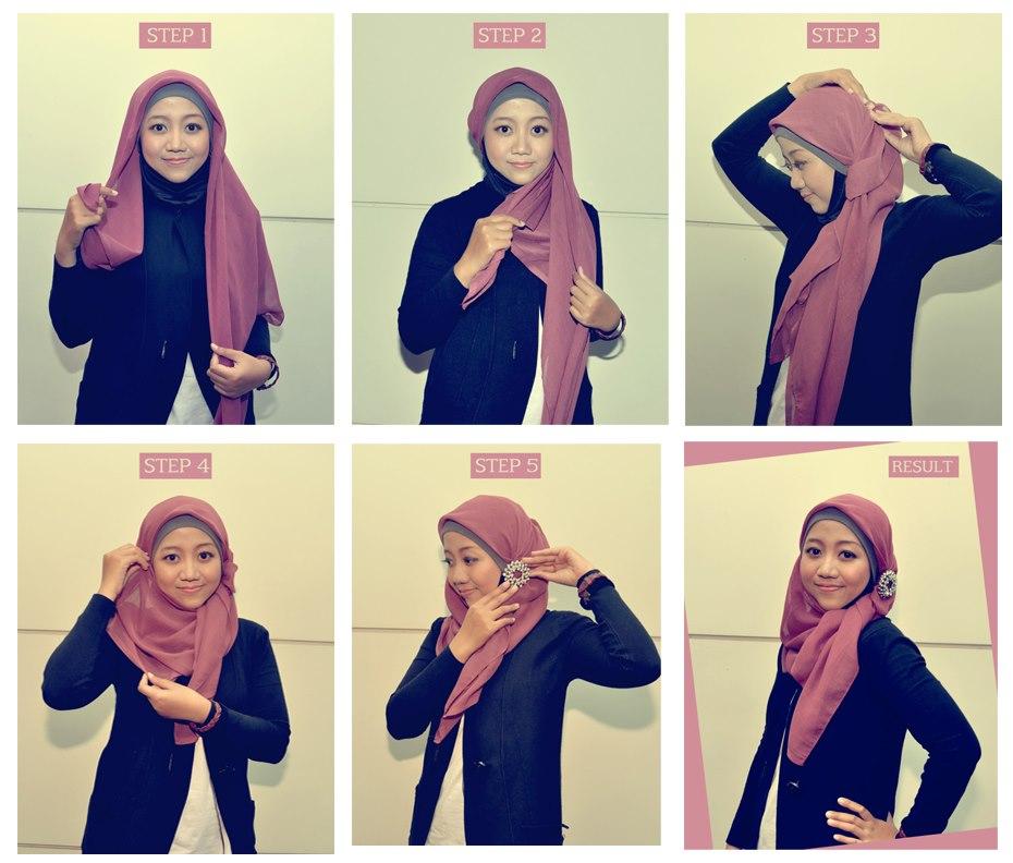 بالصور ٩ ربطات حجاب جديدة سهلة و إنيقة
