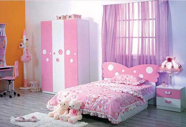 أحدث أفكار غرف النوم للبنات 2014 - ثقف نفسك