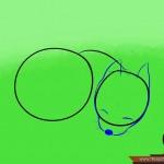 كيفية رسم كلب كرتوني بأوضاع وأشكال مختلفة بالصور 10423482_74668971203