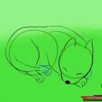 كيفية رسم كلب كرتوني بأوضاع وأشكال مختلفة بالصور 10423611_74669013203