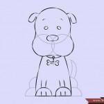 كيفية رسم كلب كرتوني بأوضاع وأشكال مختلفة بالصور 10432420_74668738536