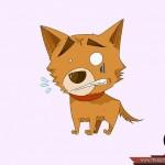 كيفية رسم كلب كرتوني بأوضاع وأشكال مختلفة بالصور 10439765_74668917203