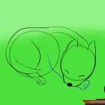 كيفية رسم كلب كرتوني بأوضاع وأشكال مختلفة بالصور 10449555_74669001870