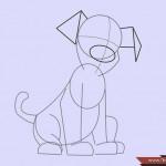 كيفية رسم كلب كرتوني بأوضاع وأشكال مختلفة بالصور 10449616_74668916870
