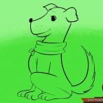 كيفية رسم كلب كرتوني بأوضاع وأشكال مختلفة بالصور 10453224_74668930870