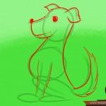 كيفية رسم كلب كرتوني بأوضاع وأشكال مختلفة بالصور 10453305_74668883536