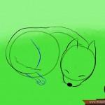 كيفية رسم كلب كرتوني بأوضاع وأشكال مختلفة بالصور 10456278_74668989870