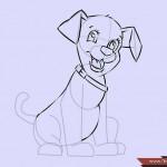 كيفية رسم كلب كرتوني بأوضاع وأشكال مختلفة بالصور 10466908_74668969203