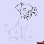 كيفية رسم كلب كرتوني بأوضاع وأشكال مختلفة بالصور 10477586_74668963536