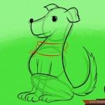 كيفية رسم كلب كرتوني بأوضاع وأشكال مختلفة بالصور 986661_7466891820363