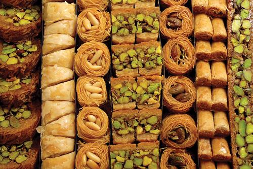 الحلويات في رمضان