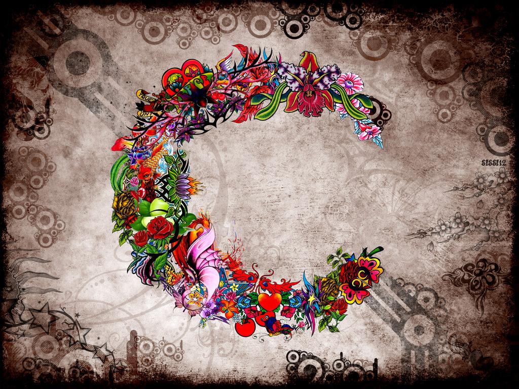 1000+ images about C''s on Pinterest | Letter c, Monograms ... Letter C In Heart Wallpaper