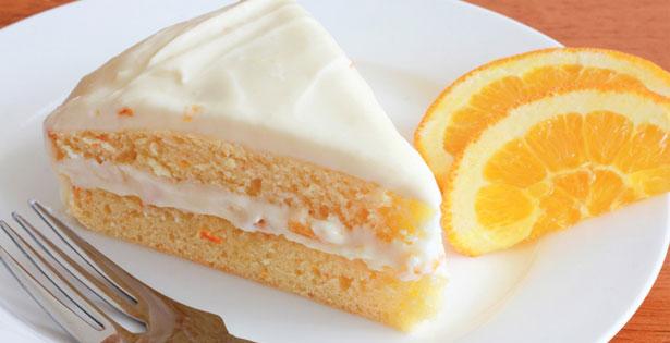 كيكة هريسة البرتقال بوصفه سهلة