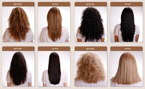 كيفية علاج الشعر بالكيراتين