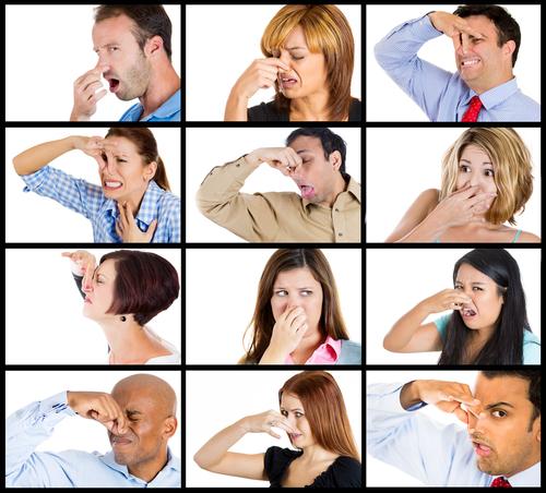 كيفية التخلص من رائحة العرق الكريهة