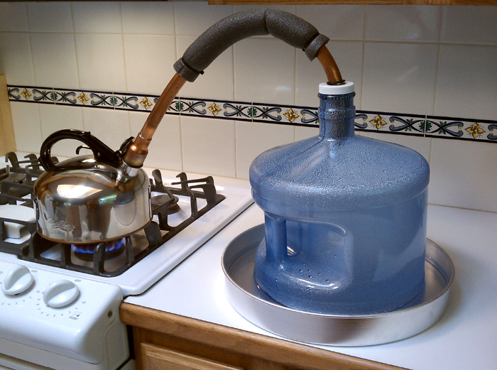 طرق تنقية المياه فى المنزل