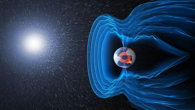 حقيقة إنقلاب المجال المغناطيسي للأرض حيث ينعكس بسرعة أكبر من المتوقع