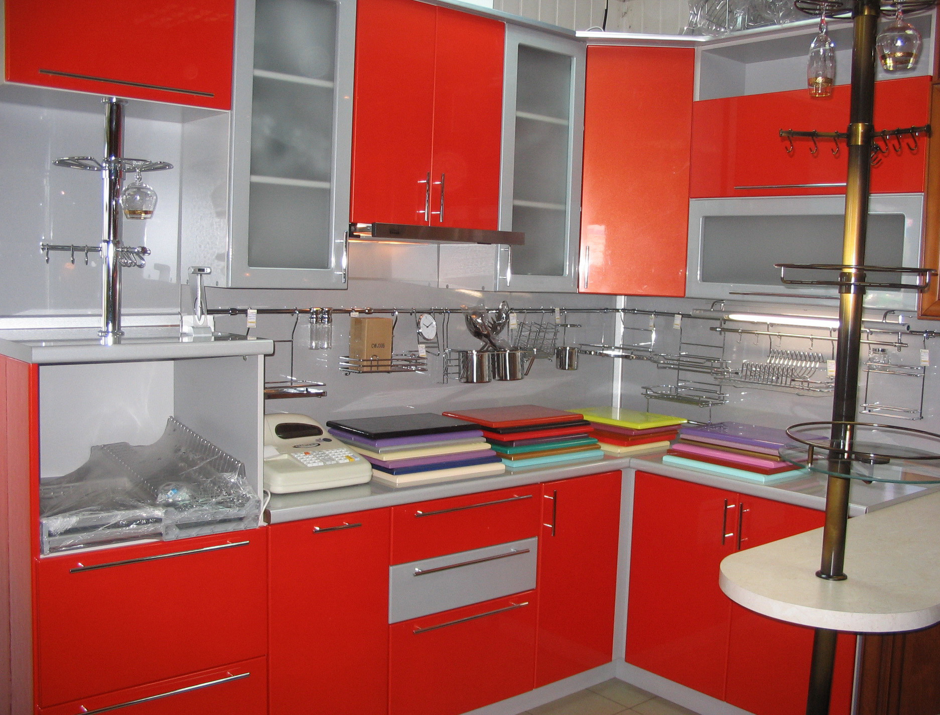 for Black and silver kitchen designs