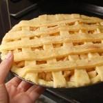 طريقة عمل فطيرة التفاح بالصور سهلة وشهية تعرفي-علي-ف
