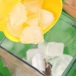 طريقة عمل سموثي الليمون و النعناع 4