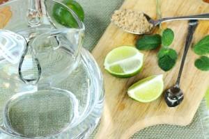 عصير الليمون بالنعناع و السكر البني بسيط و منعش2