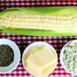 وصفة مختلفة لعمل الذرة المشوية مع الريحان و الجبن الأيطالي2