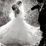 حفلات الزفاف الرومانسية