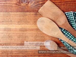تنظيف-الاواني-الخشبيةـ٢