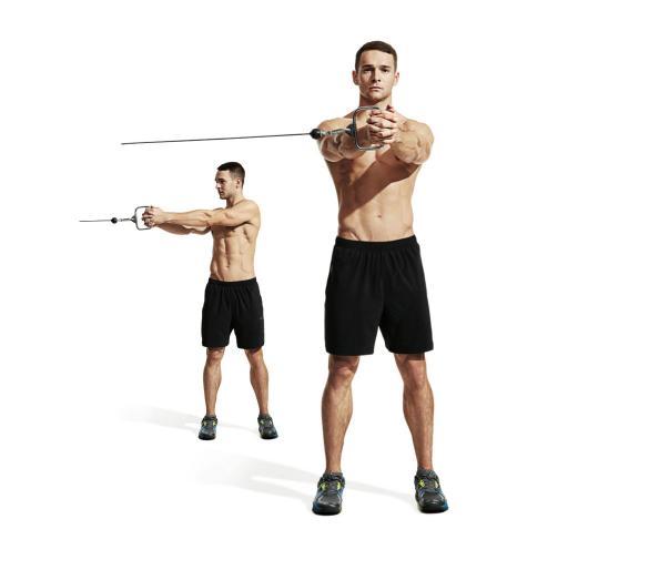 تمارين تقسيم عضلات البطن10