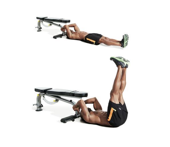 تمارين تقسيم عضلات البطن11