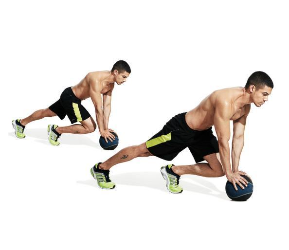 تمارين تقسيم عضلات البطن13