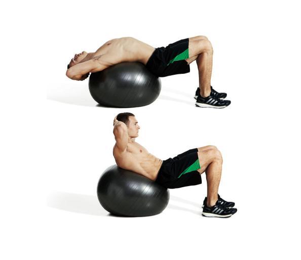 تمارين تقسيم عضلات البطن5