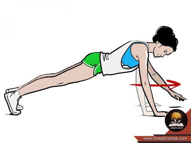 تمارين رياضية فعالة للحصول على بطن مشدود 3